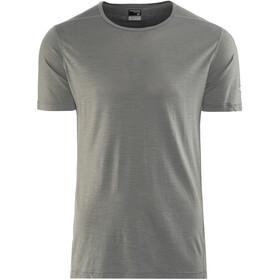 Icebreaker M's Zeal SS Crewe Shirt metal